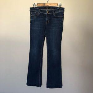 White House Black Market Bootleg Jeans